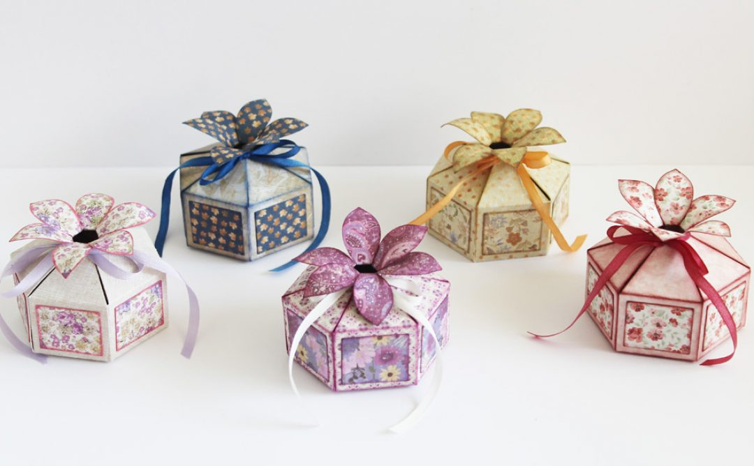 Special Occasion Flower Top Gift Boxes