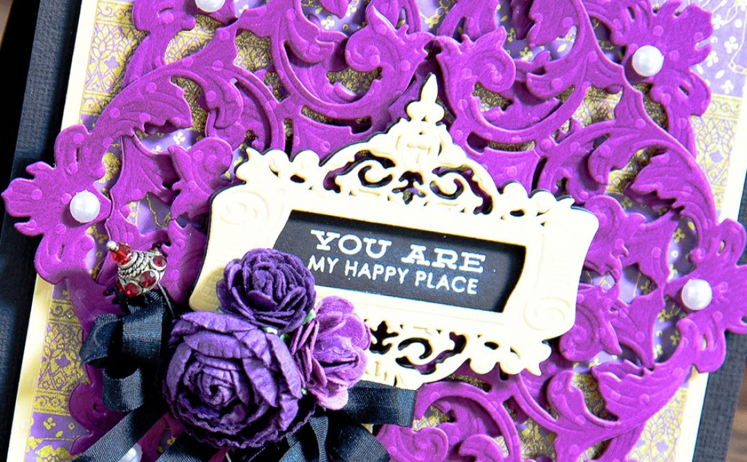 You Are My Happy Place Card