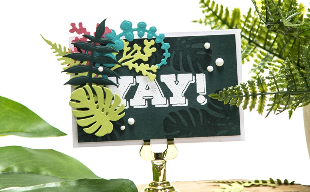 Yay! Congratulations Card, July Die of the Month