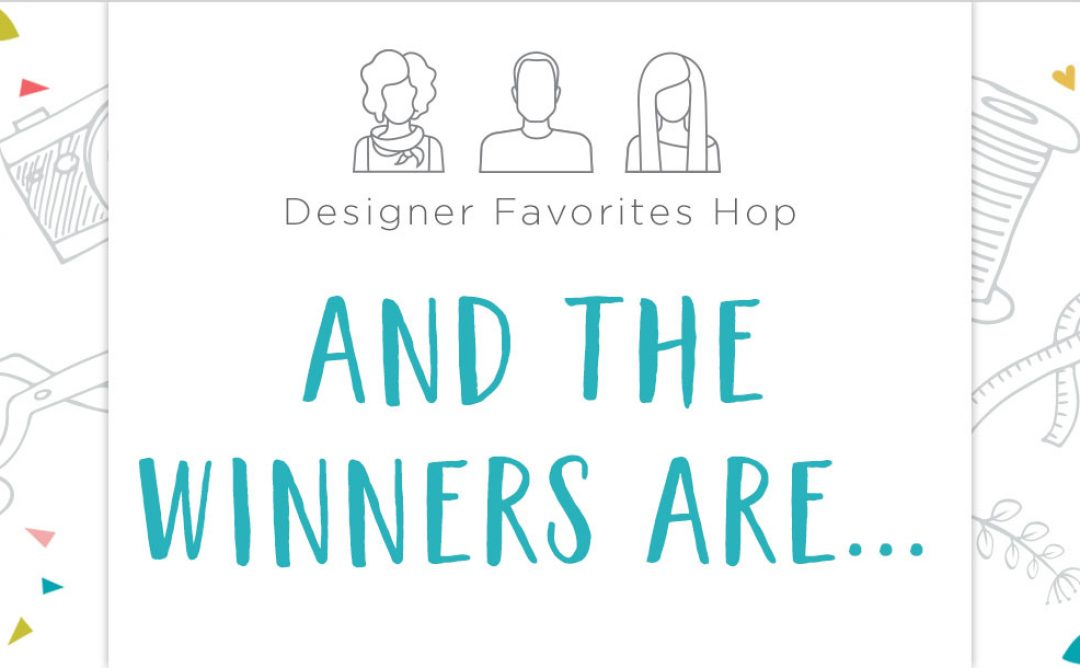 Designer's Favorites Hop Winners