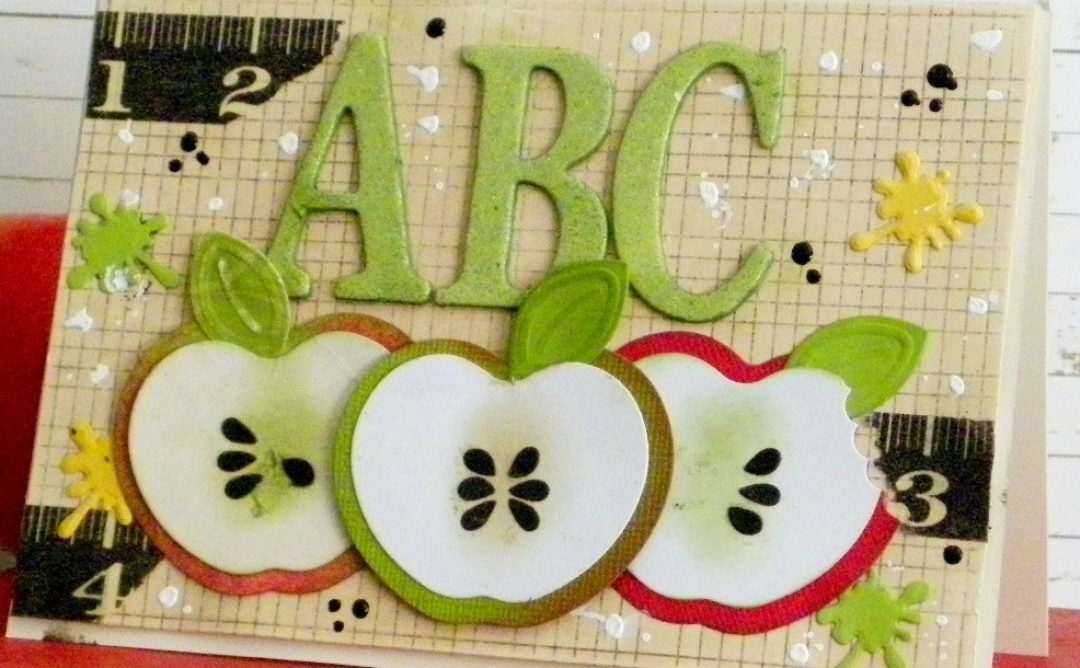 Back to School: An Apple for the Teacher Card