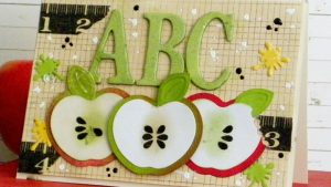 Apple Card for Teacher by Linda Lucas for Spellbinders Paper Arts Featured Image