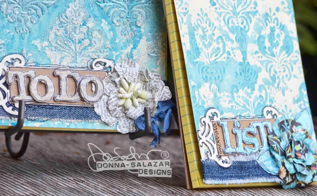 Easy Bohemian Notepads by Donna Salazar
