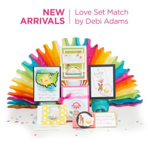 Spellbinders Love Set Match Collection by Debi Adams