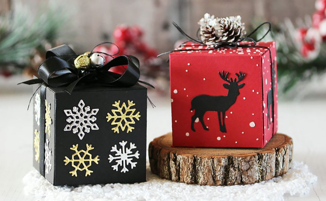 Four Seasons Inspiration | Easy Christmas Boxes with Laurie