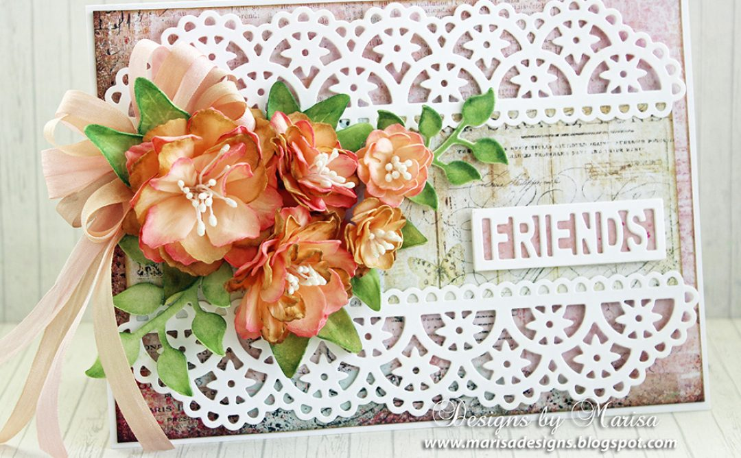 Flowers and Lace by Marisa Job