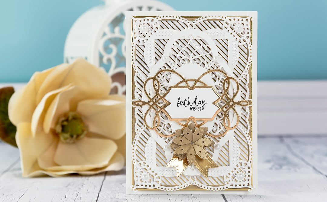 Cardmaking Inspiration | Birthday Wishes Card
