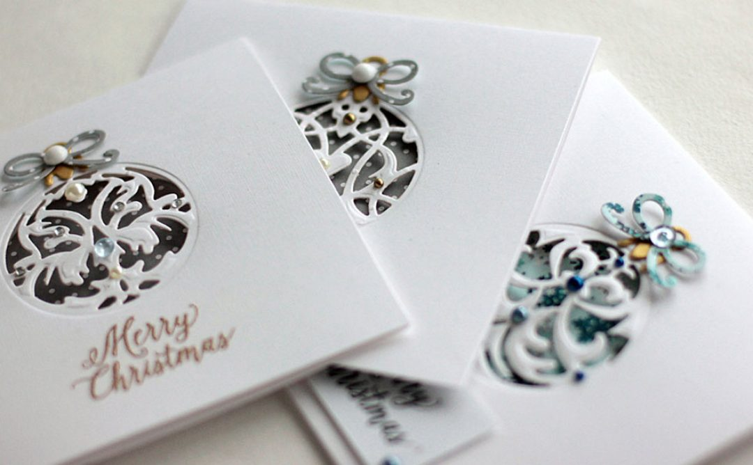 Holiday Ornaments Cards with Elena