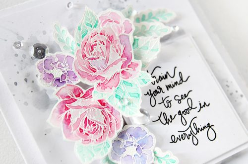 Moon Flower Cool Vibes Cards by Erum Tasneem for Spellbinders using SDS-098 Moon Flower Stamp & Die set by Spellbinders
