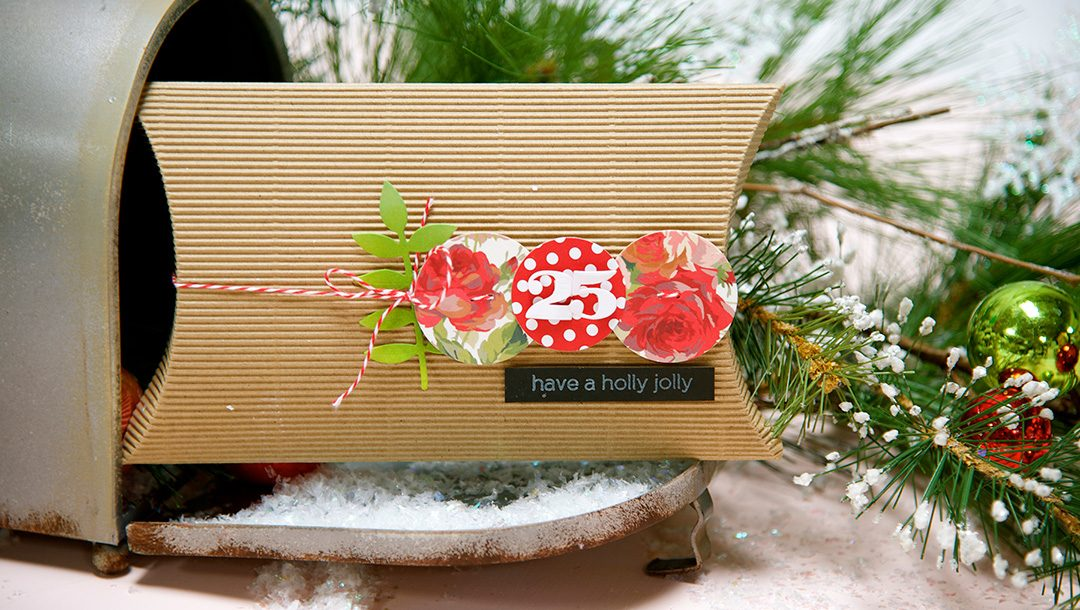 Simple and Impressive Gift Wrapping Using Spellbinders Dies by Debi Adams #christmas #giftwrap #diecutting #spellbinders