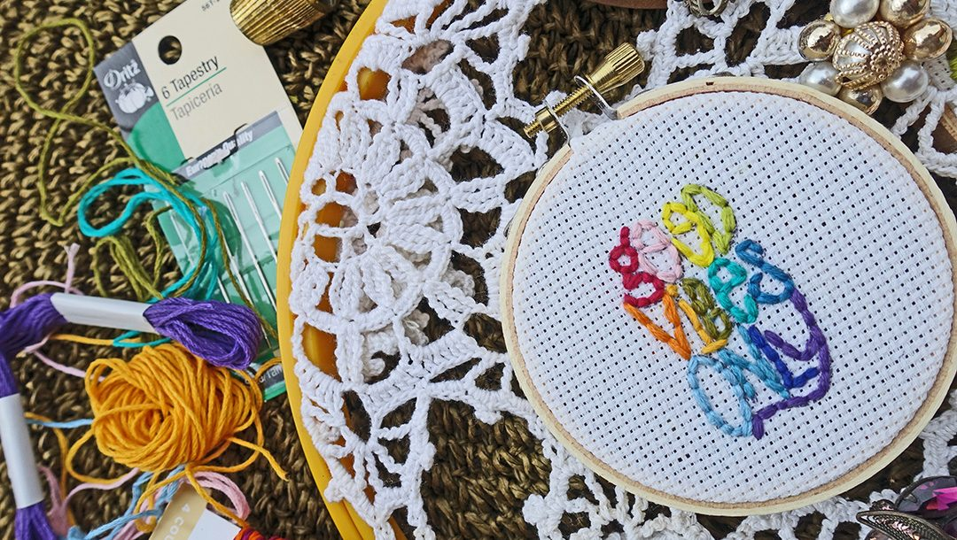 Stitched Vibes by Stephanie Low