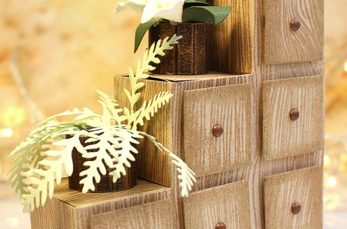 Video Friday | How to Make Paper Chest of Drawers / Flower Stand with Olga Direktorenko for Spellbinders