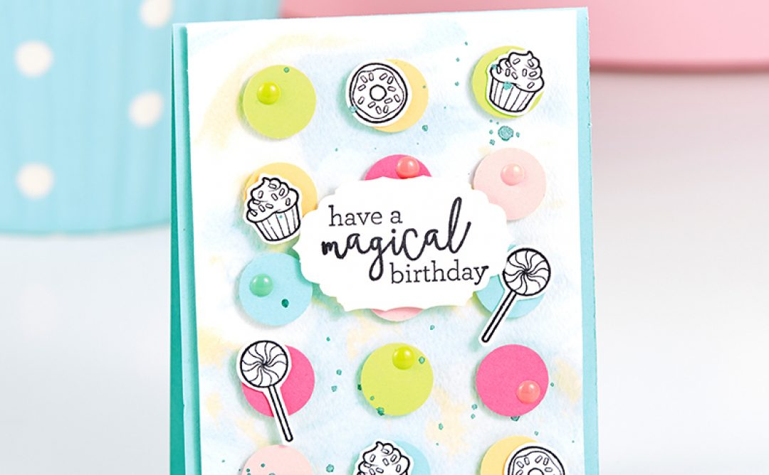 FSJ's New Magical Unicorn Stamp Set