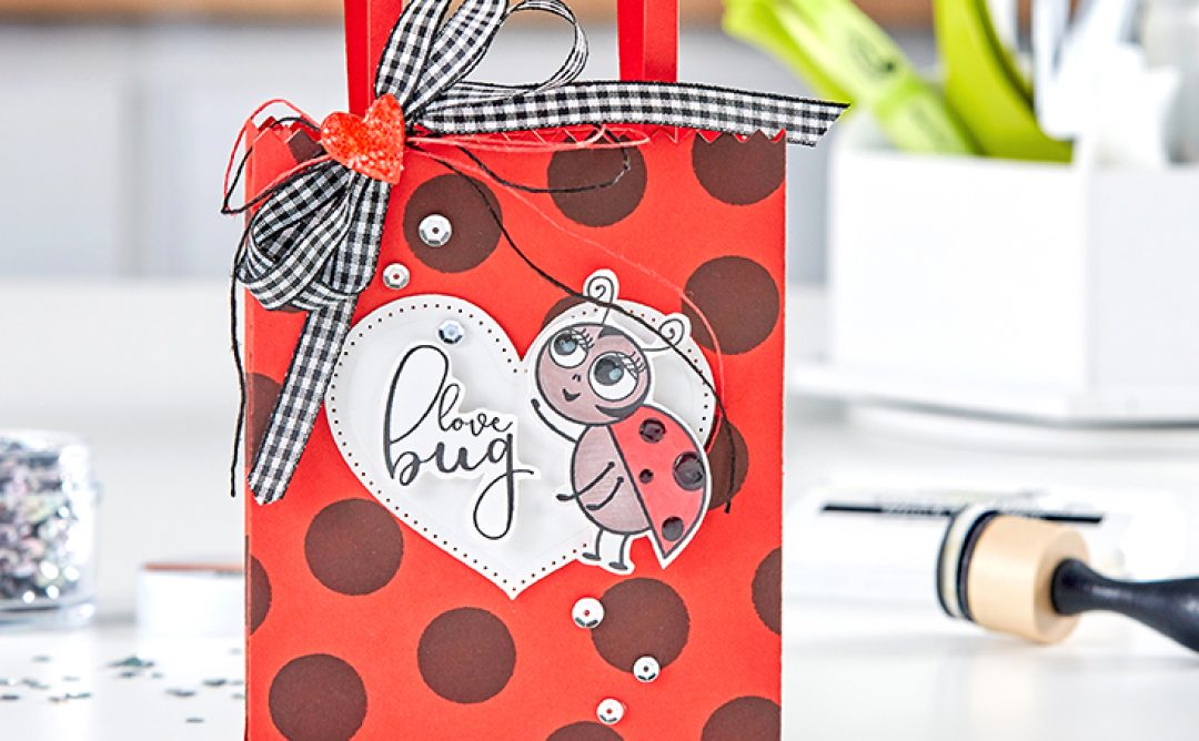 Love Bug Valentine Card Carrier