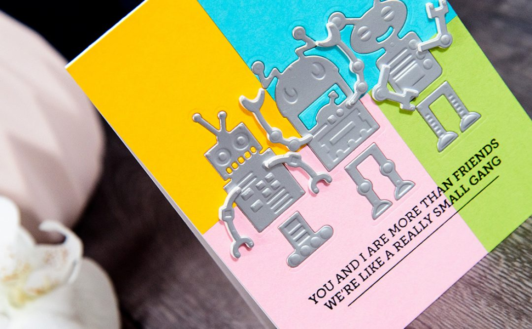 Cardmaking Inspiration | Fun Robots Cards
