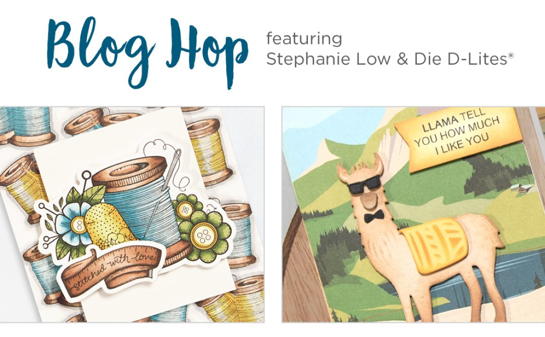 February 2018 Release – Handmade & Die D-Lites Collections. Blog Hop + Giveaways (Now Closed)