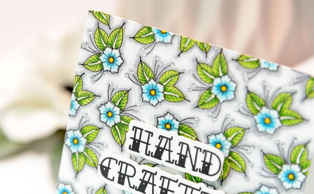 Handmade Collection Inspiration | Handcrafted Card with Yana