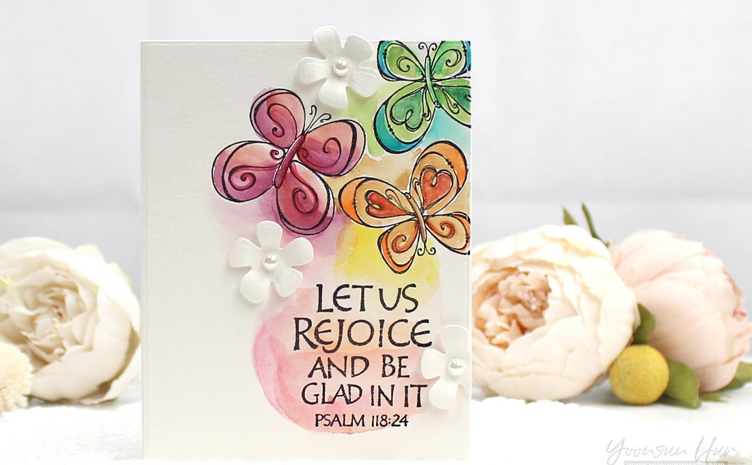 Bible Journaling Inspiration | Watercolor Cards with Yoonsun