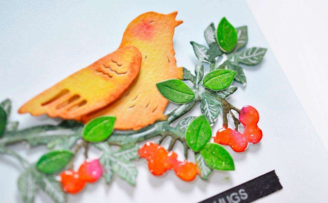 Flower Garden Inspiration | Bird Of Spring Card with Mayline