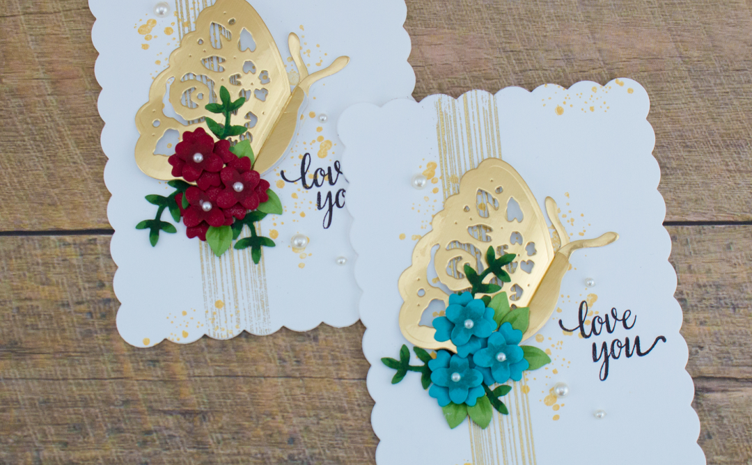 Flower Garden Inspiration | Botanical Butterfly Card with Cynde. Video