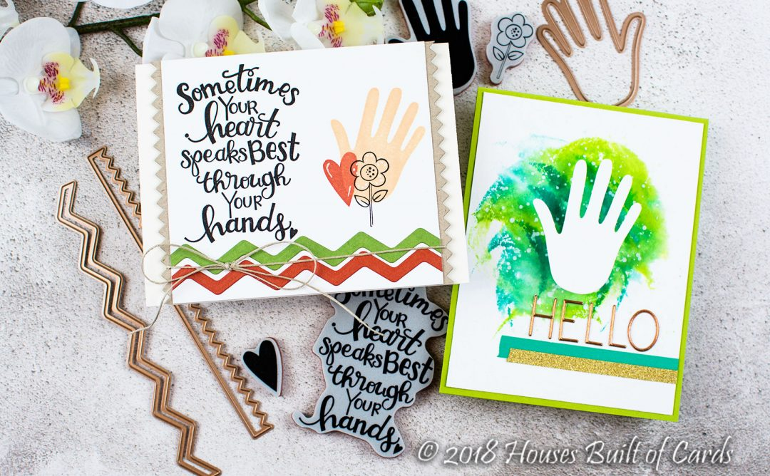 Sew Sweet Collection Inspiration | Simple Cards with Heather
