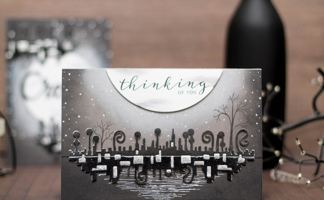 Wings of Love Inspiration | Black & White Cards with Elena