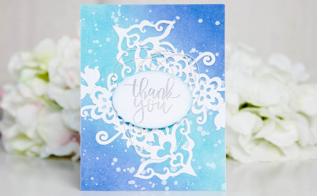 Folk Art Inspiration | Thank You Card with Keeway