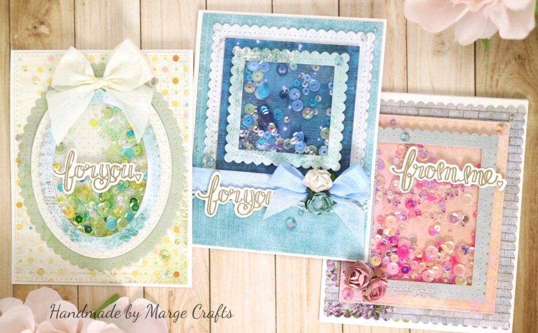 Classics March Collection Inspiration | Shaker Cards with Marge