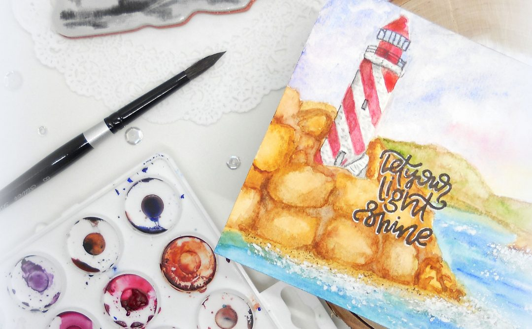 Video Friday | Watercolor Lighthouse with Kelly