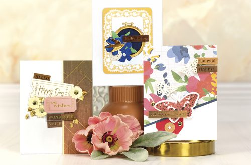 Spellbinders May 2018 Card Kit of the Month is Here!