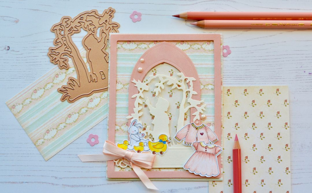 Little Loves Inspiration | Silhouette Cards with Susie