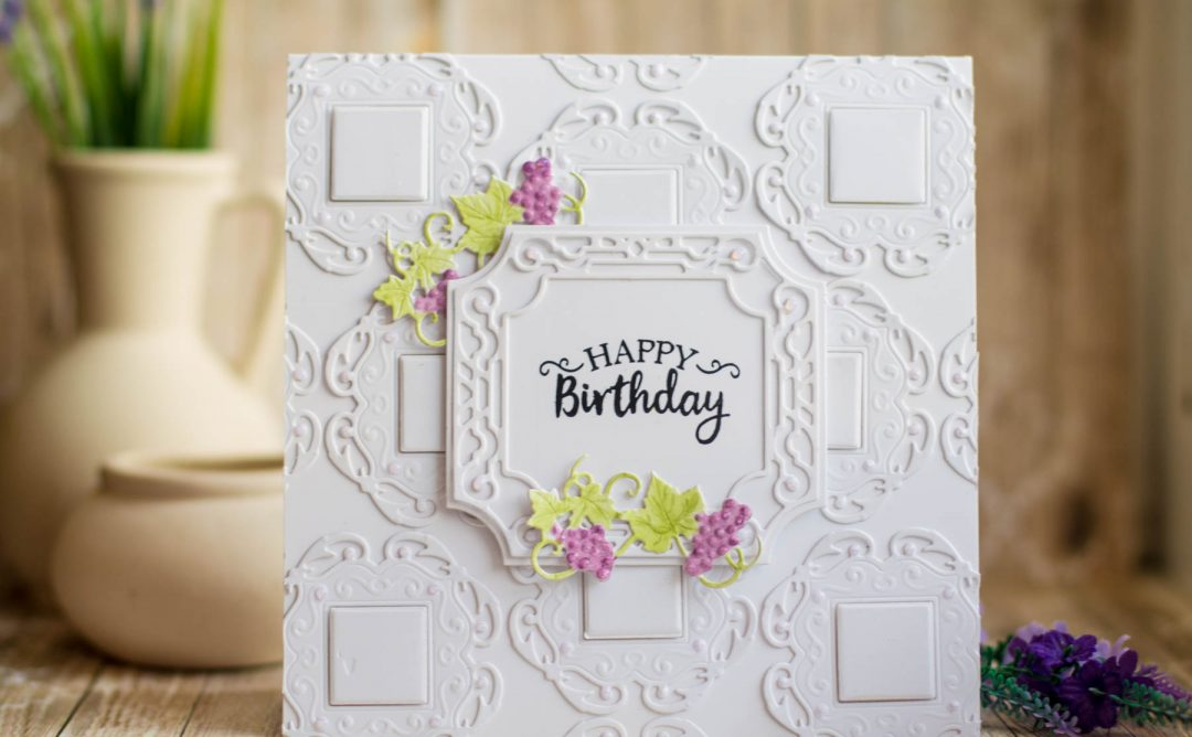 Cardmaking Inspiration | Happy Birthday Card