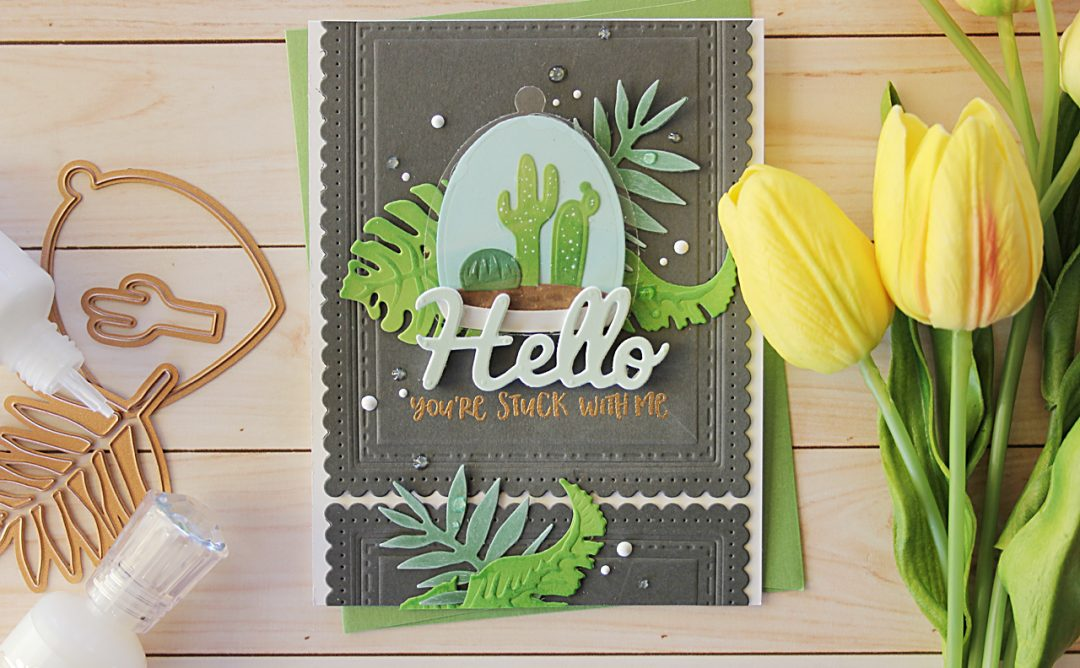 Video Friday | Inked Terrarium Hello Card with Nichol