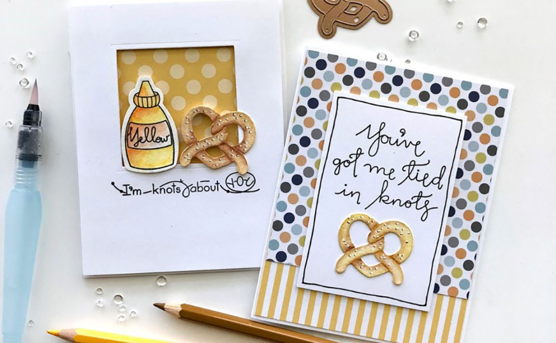 Perfect Match Inspiration | Twisted Card with Norine