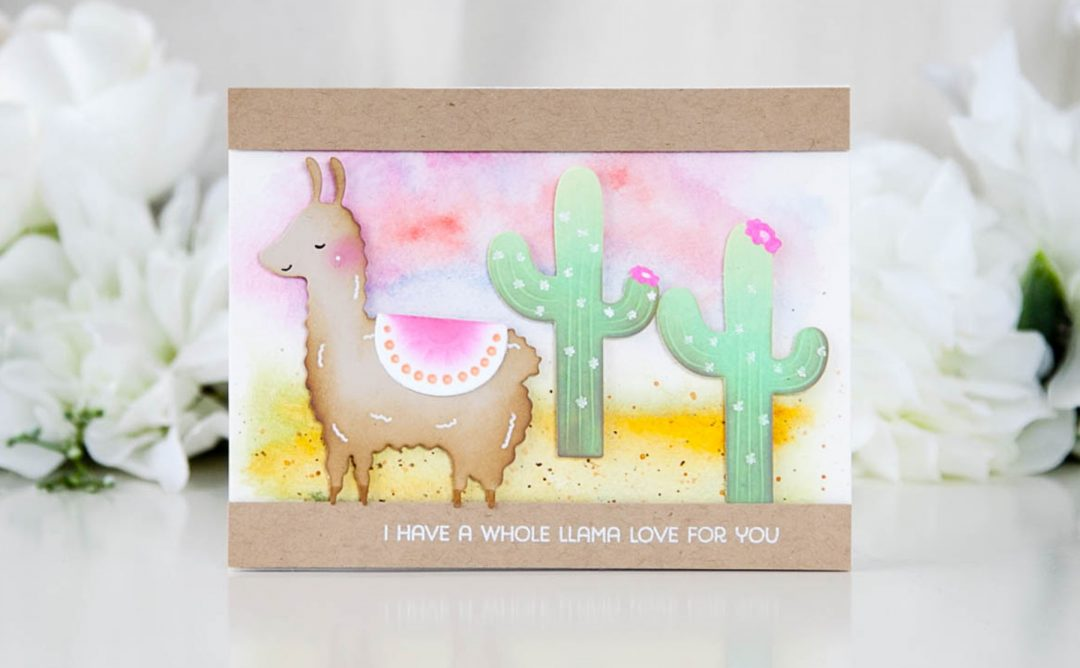 Exclusive Indie Collection Inspiration | Llama Love with Keeway