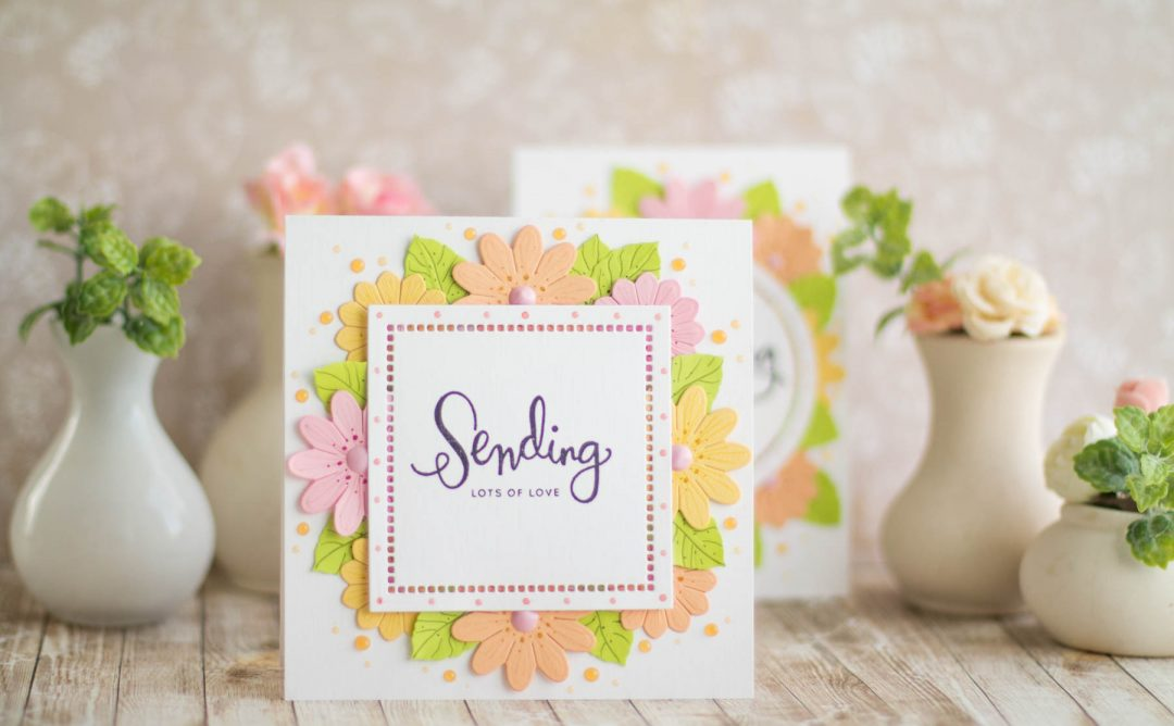 Romancing The Swirl Inspiration | Floral Cards with Elena