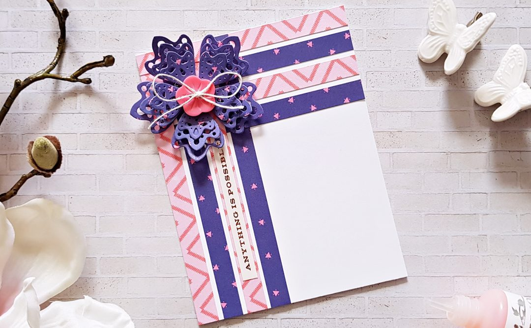 Special Moments Inspiration   Purple Cards with Zsoka
