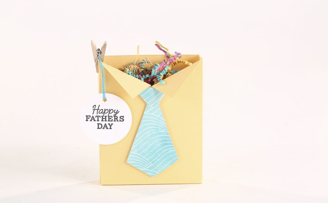 Father's Day Shirt Box Craft and Tie Printable