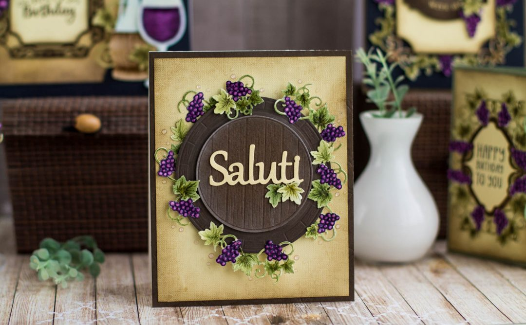 Cardmaking Inspiration | Saluti Card with Elena