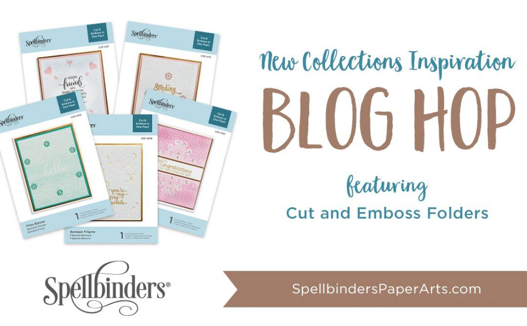 Cut & Emboss Folders Release. Blog Hop + Giveaway (Now Closed)