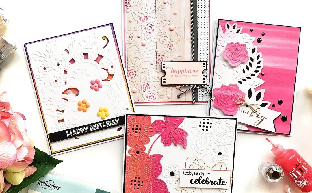 Cut & Emboss Folders Inspiration | Everyday Cards With Enza