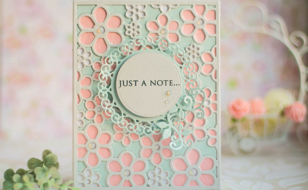 Special Moments Inspiration | Flower Background Card with Elena