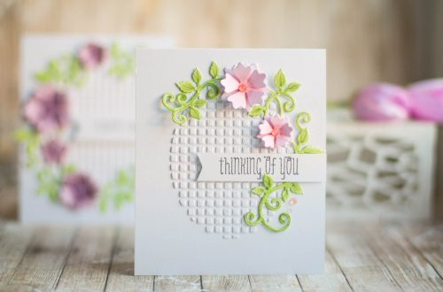 Spellbinders Special Moments Collection by Marisa Job - Inspiration   Small Cards with Elena featuring S5-378 Floral Oval dies #diecutting #cardmaking #neverstopmaking #handmadecard