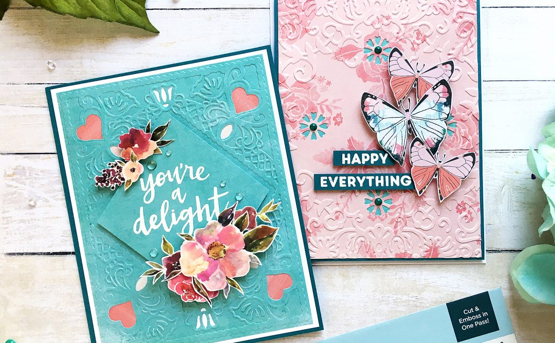 Cut & Emboss Folders Inspiration | Even More Everyday Cards With Enza