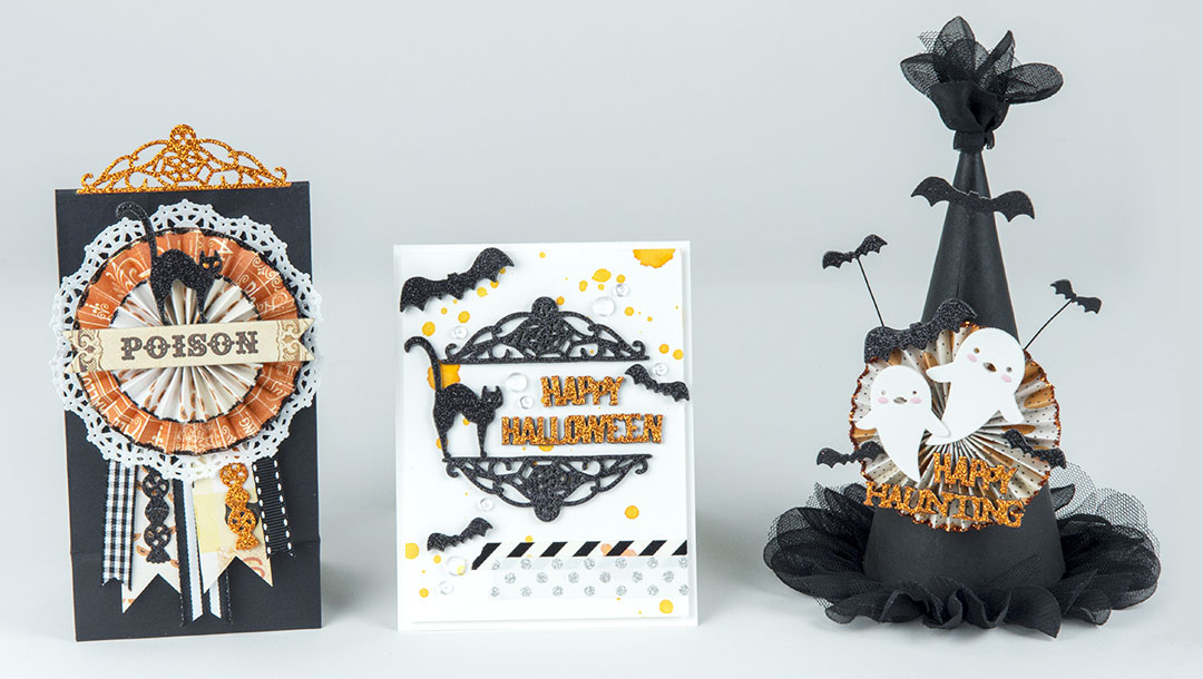 Spellbinders September Small Die of the Month is Here! #neverstopmaking #diecutting #handmade #papercrafting #halloween