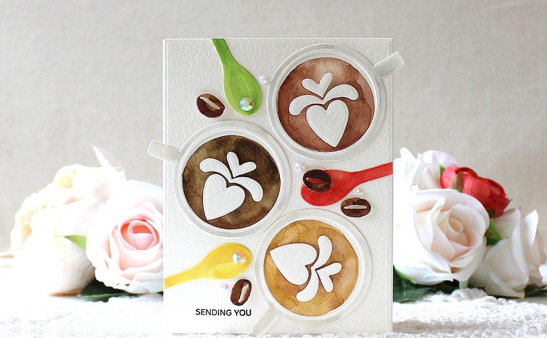 Cuppa Coffee, Cuppa Tea Inspiration   Watercolor Coffee Card with Yoonsun Hur