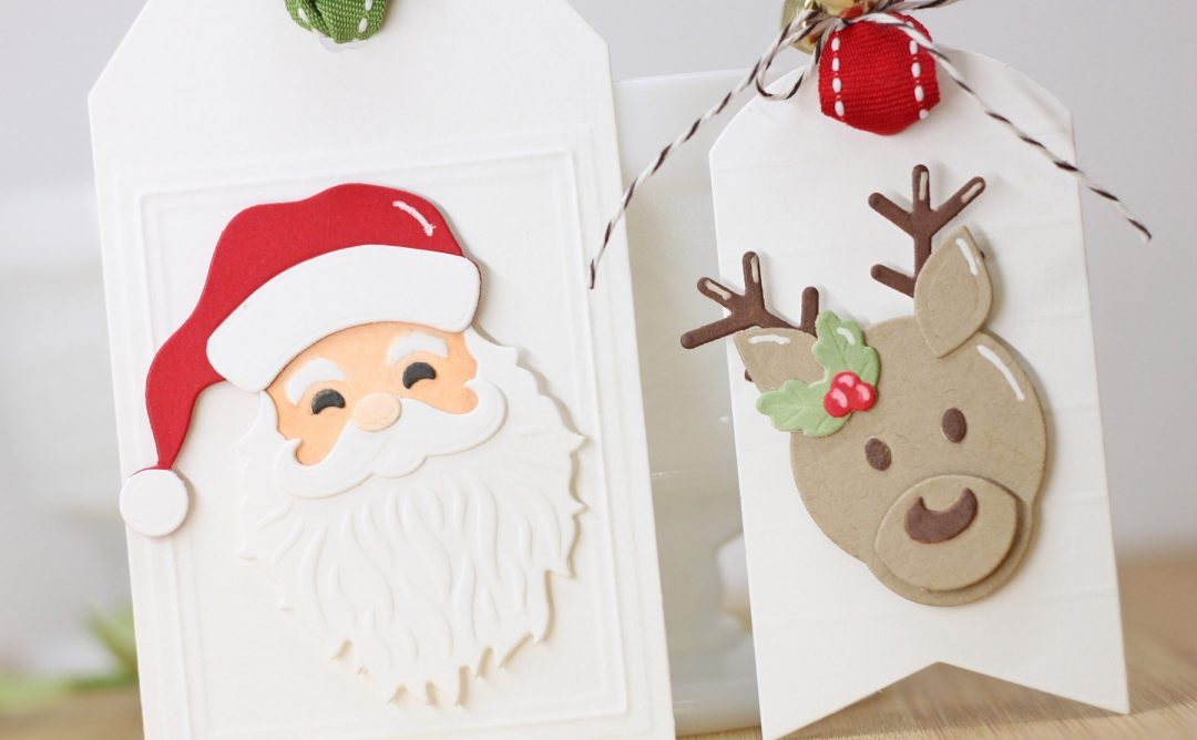 Die D-Lites Holiday Inspiration | Clean and Simple Christmas Tags with Laurie Willison