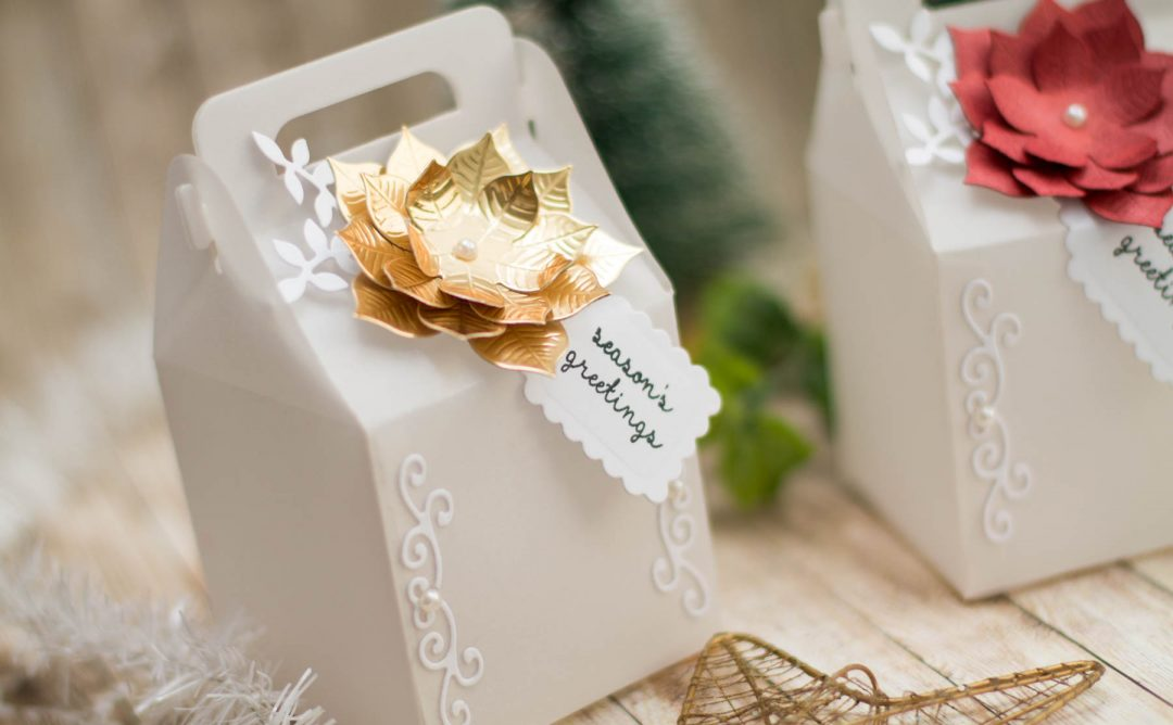 A Charming Christmas Inspiration   Vellum Boxes For Christmas Gifts with Elena Salo
