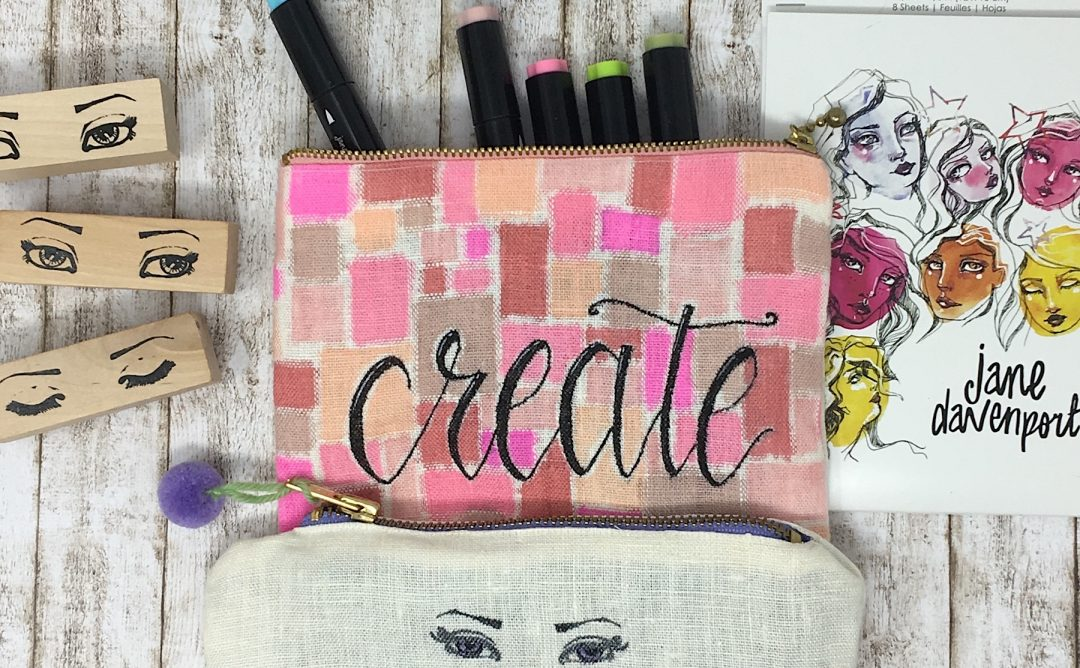 Jane Davenport Artomology | Crafting with Jane Davenport Markers with Angela Tombari