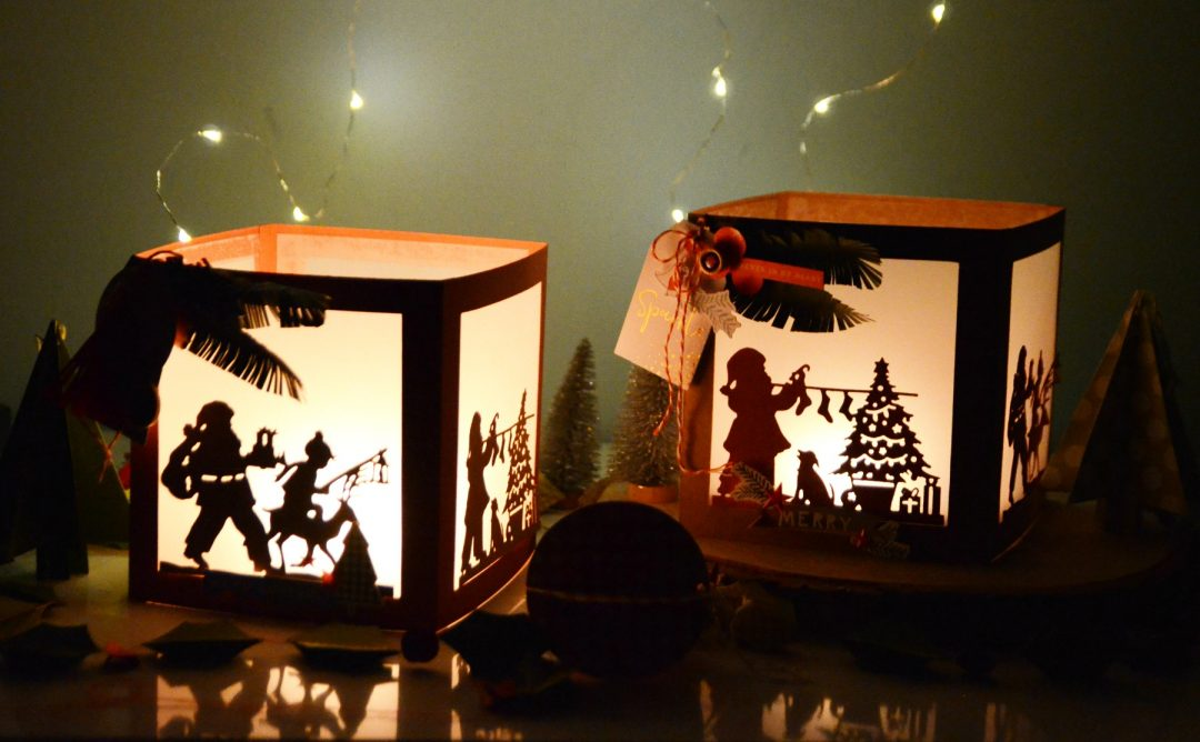 A Sweet Christmas Inspiration | Christmas Lanterns and Cards with Anna